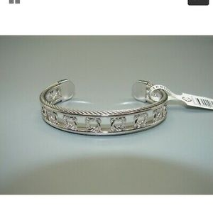 Charriol heart to heart cuff bracelet